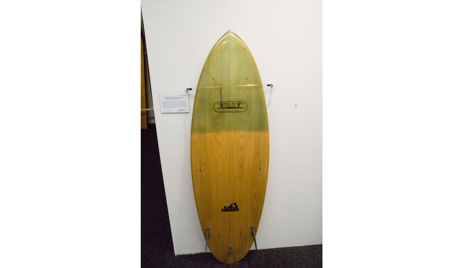 Grain surfboard. Marrying the Tom Blake hollow paddleboard concept with a high performance shape. The past becomes the future.