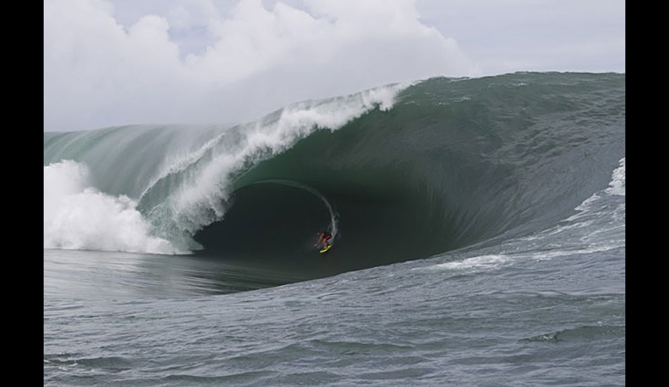 Bruce Irons. Possibly the biggest wave of the day. Photo: ASP
