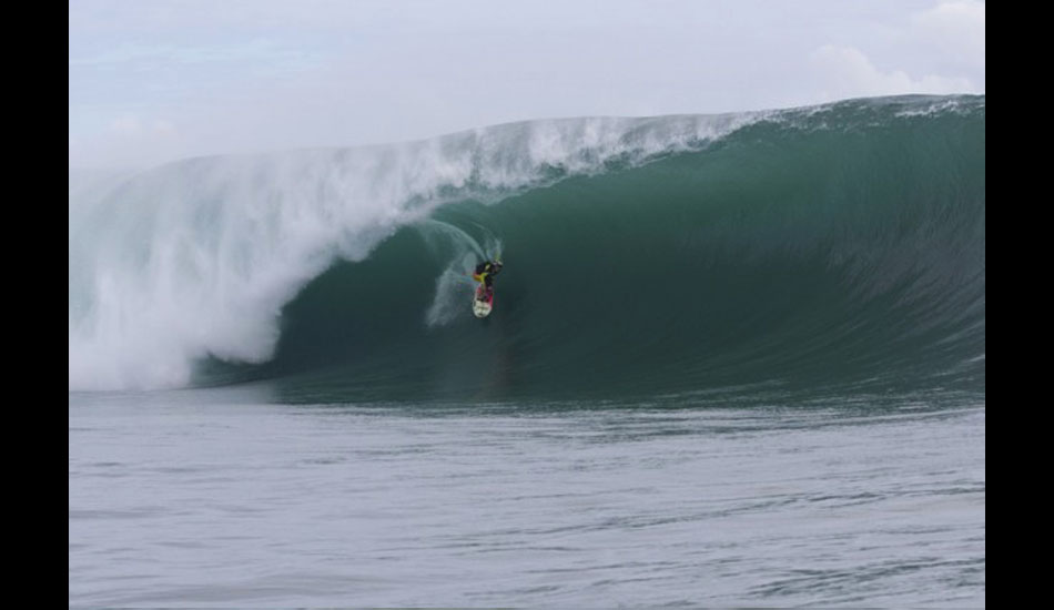 Keala Kennelly, taking women\'s big-wave surfing to new levels. As usual. Photo: ASP