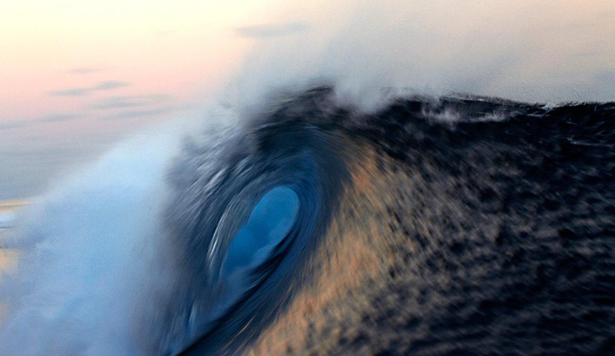 "Teahupoo barrel. Not the thickest, but beautiful. Image: <a href=""http://www.luizblanco.com/Home.html\"" target=\""_blank\"">Blanco</a>"