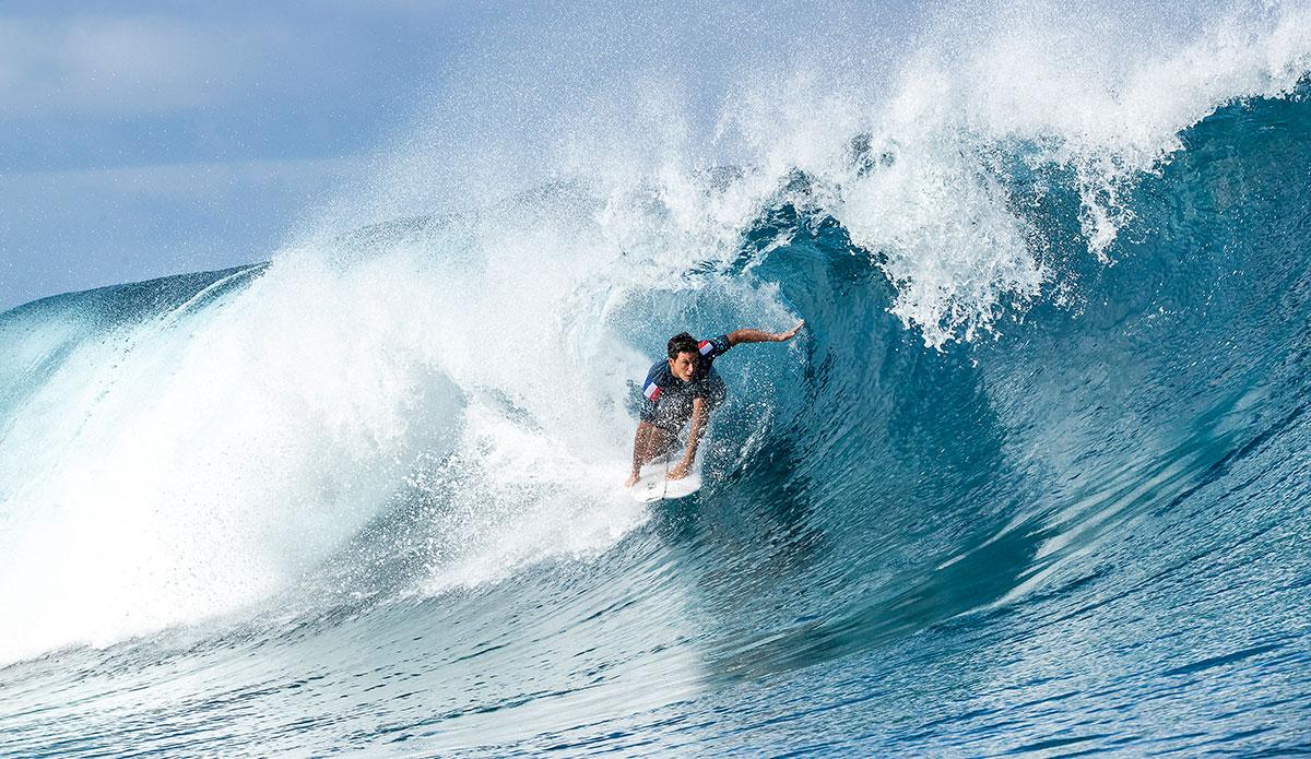 Jeremy Flores. Photo WSL