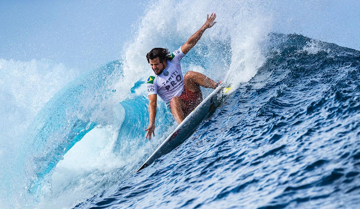 Ian Gouveia. Photo WSL