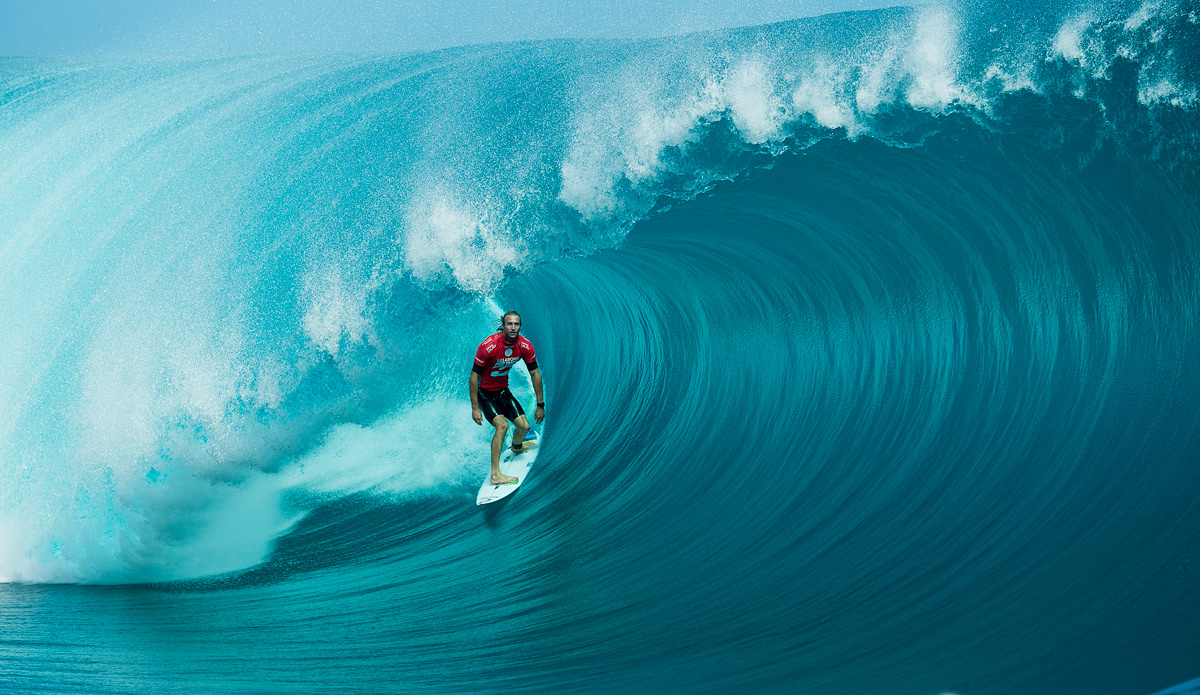 That is real. Even though it looks fake. But just ask Owen Wright. It\'s real. Photo: ASP
