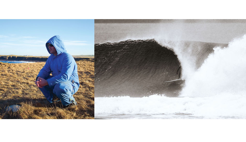 Chris Noble is a classic character we met on our first trip to Scotland, and have been good friends ever since. This is him in his epic blue boiler suit, these were standard winter issue up in Caithness. If he isn\'t in this boiler suit, he is likely to be in the barrel.