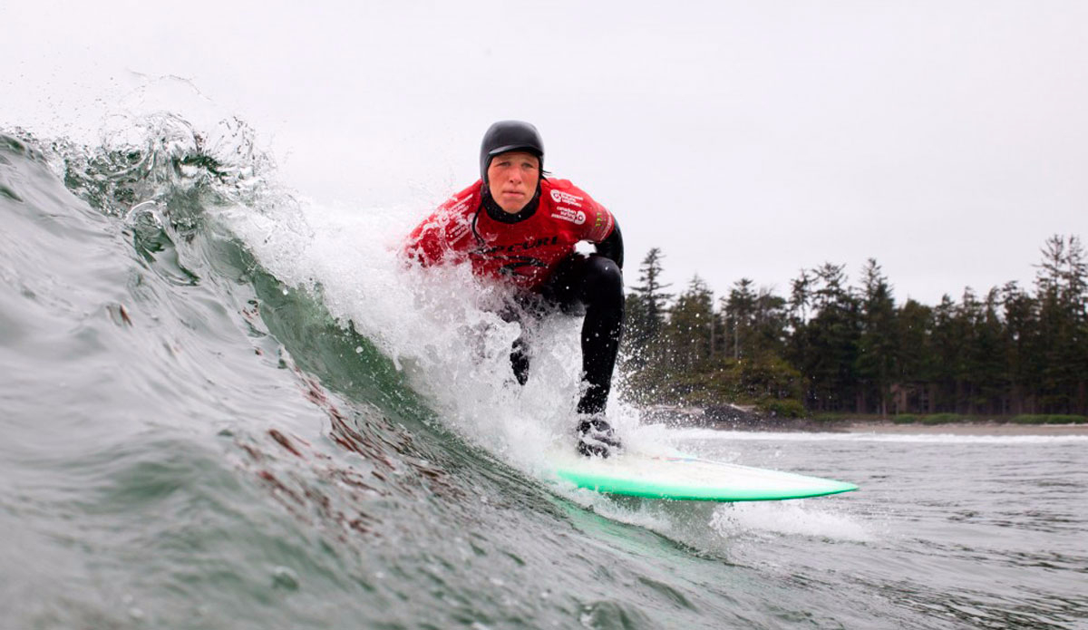 "Tofino surfer Darren Lundquist. Photo: Lucas Murnaghan/<a href=""http://surfthegreats.org/\"">Surf The Greats</a>"