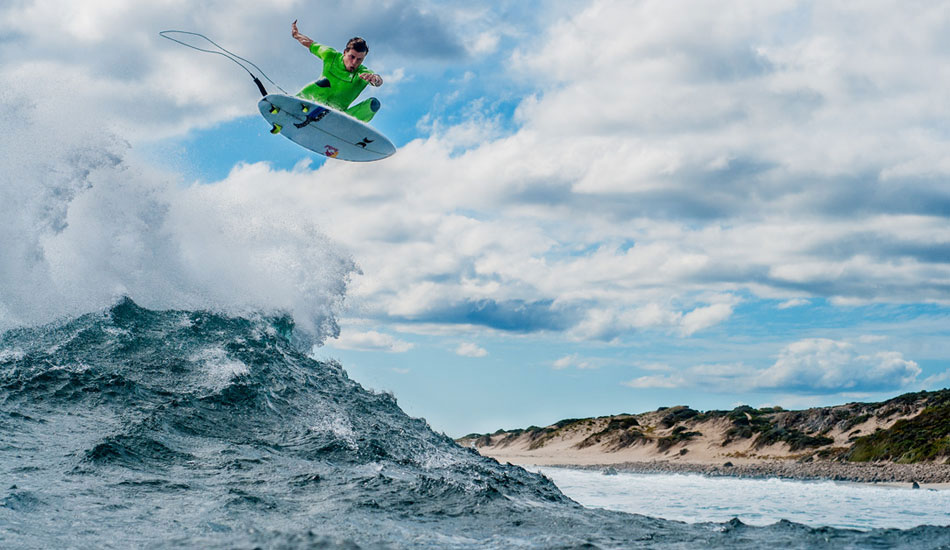 """From my first trip to West Oz earlier this year. Julian was throwing some of the biggest airs I\'d ever seen in person this trip and I was so glad when I downloaded my cards and everything came out how I\'d planned. Photo: <a href=\""""http://trevormoran.com/\"""">Trevor Moran</a>"""