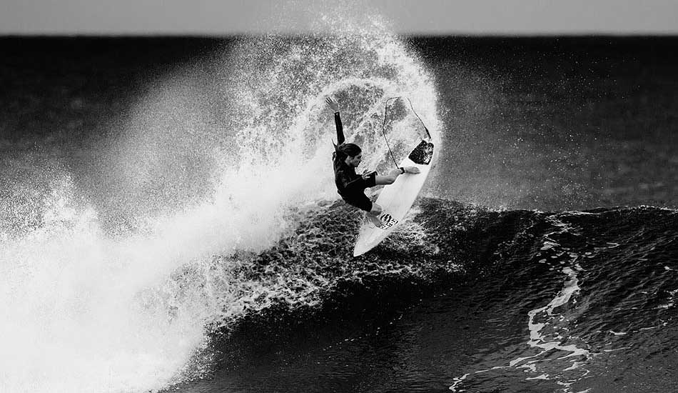 """Craig Anderson's fluid style makes shooting him so easy. He can use his tail like a paintbrush to whip water trails with perfect symmetry, which drives the photo composition. Photo: <a href=\""""http://trevormoran.com/\"""">Trevor Moran</a>"""