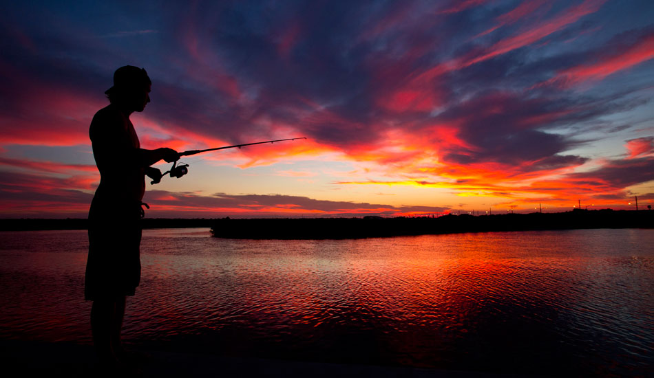 "Here in Florida our fishing industry is very big. Also many locals and visitors fish recreational. As the fall begins, the fishing and sunsets do too. Photo: <a href=""http://tupat.posterous.com/\"" target=\""_blank\"">Patrick Eichstaedt</a>"