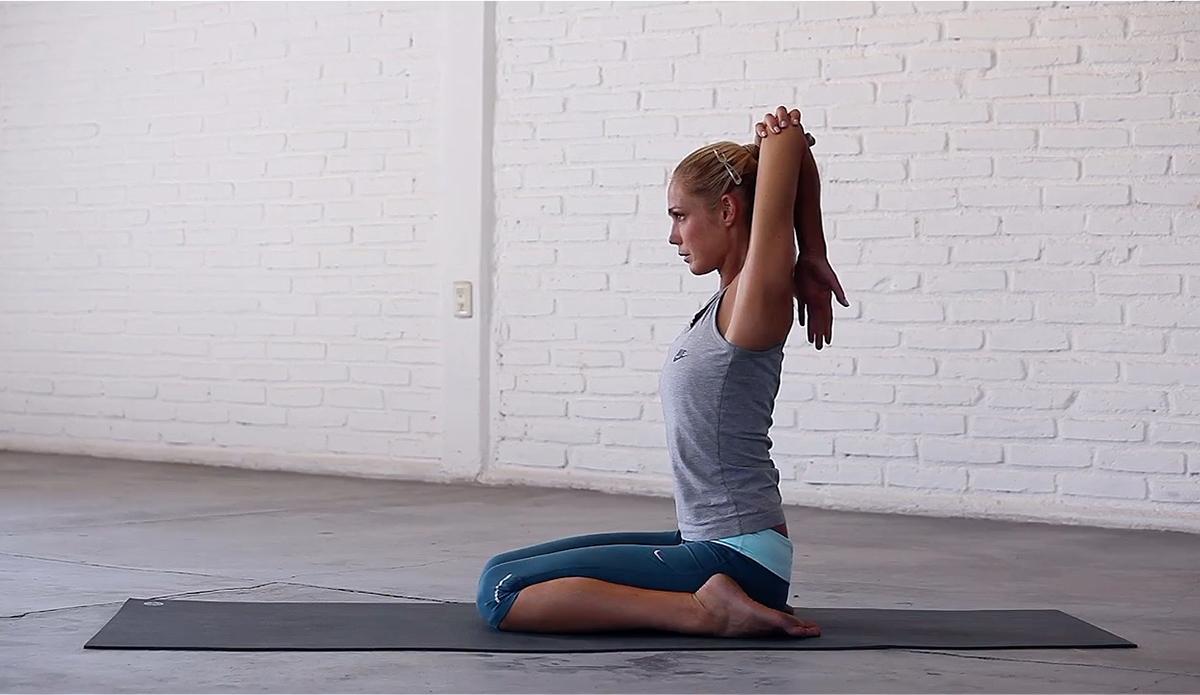 2. Triceps Stretch
