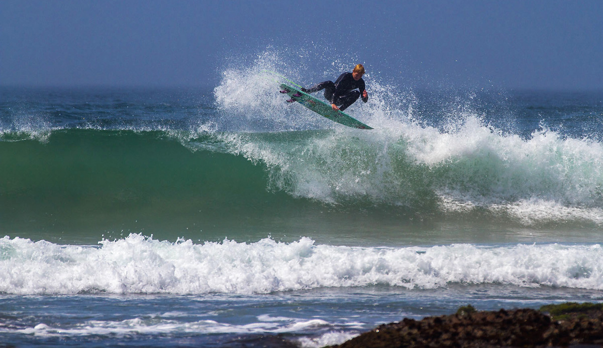 Young Michael Monk has no problem making hay while the sun shines. Photo by: Tyerell Jordaan