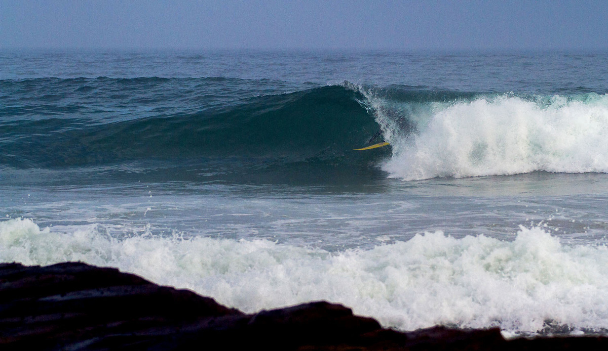 Often the evening glass offs are worth the wait, Michael Monk reaping the benefits. Photo by: Tyerell Jordaan