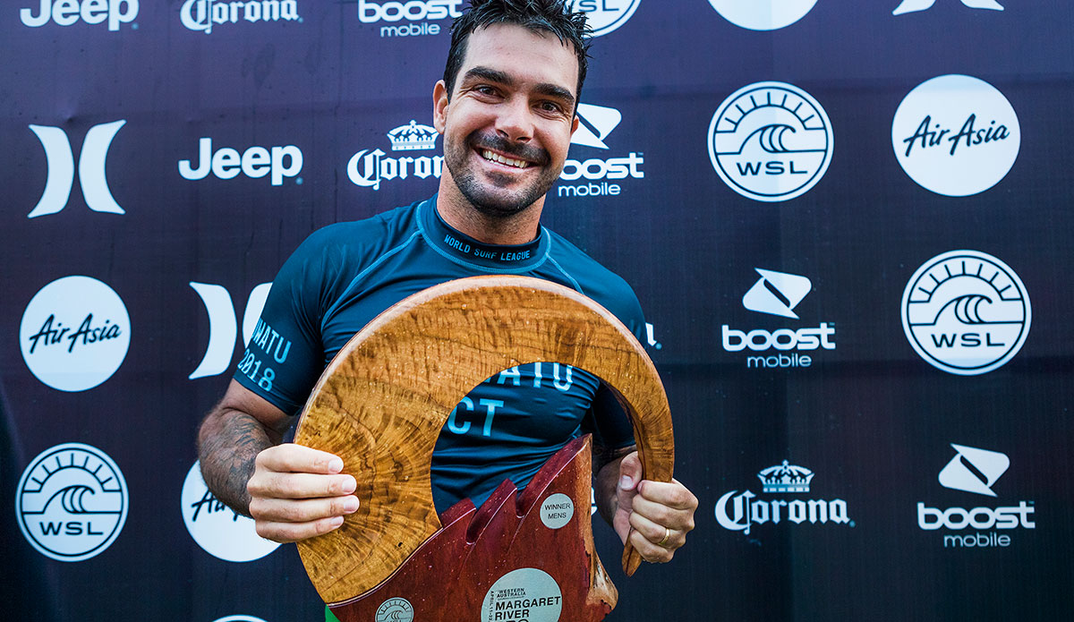 Willian Cardoso. Photo: WSL/Cestari