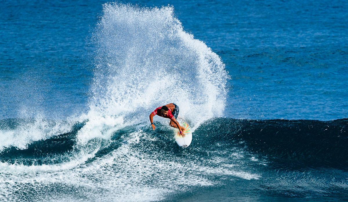 Michael Rodrigues. Photo: WSL/Sloan