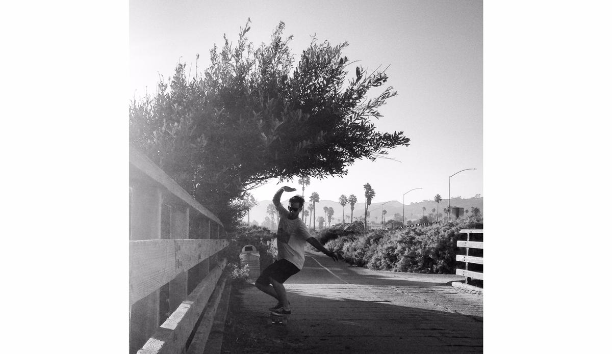 "ThephotowastakenSummerof2014ofmysonNicholasinVenturaCalifornia.Whenthere\'sswellhereit\'sthebestplacetosurf,whenit\'sflatwetakeanythingwecanget!Photo: <a href=\""https://instagram.com/stephenmansfield\"">@stephenmansfield</a>"