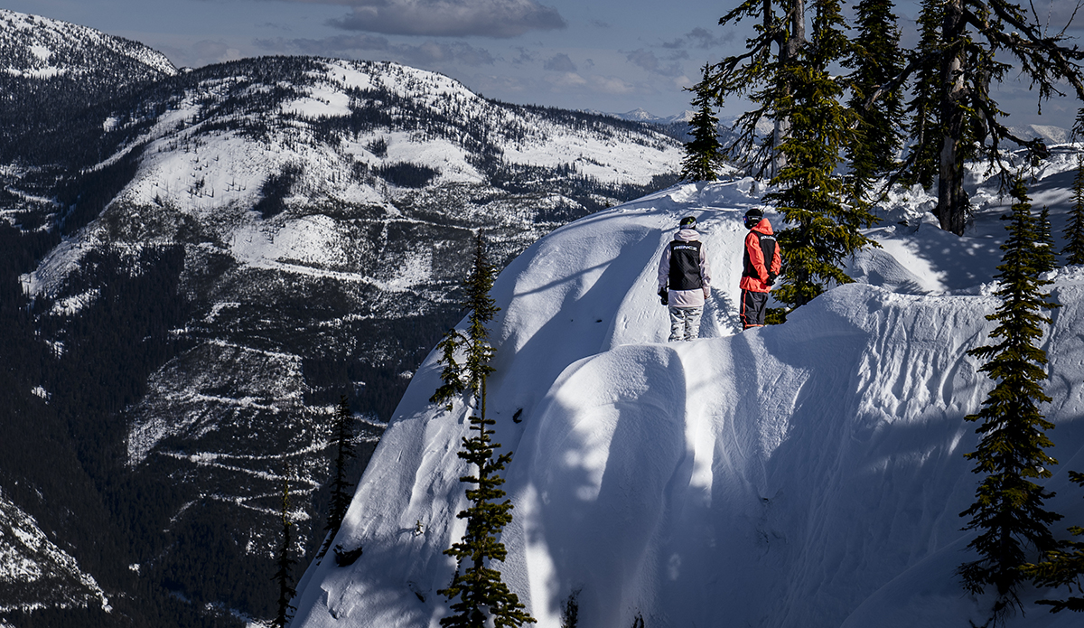 The view into Huckleberry. Photo: Chad Chomlack/Natural Selection/Red Bull Content Pool