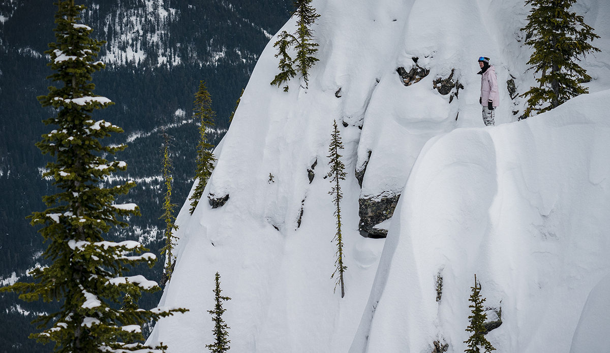 Scoping lines. Photo: Chad Chomlack/Natural Selection/Red Bull Content Pool