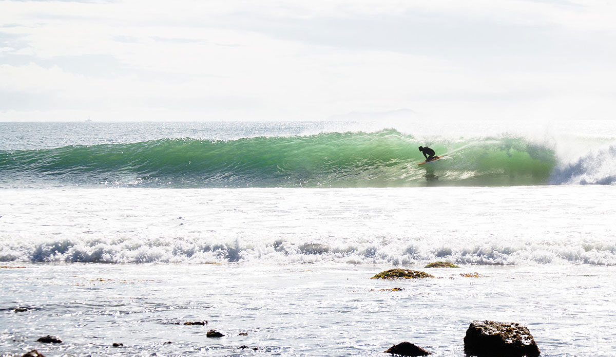 "Dropping into a fun little nug on a cool November morning. Rincon, CA. Photo: <a href=""http://www.victoriamouraphoto.com/#0\""> Victoria Smith</a>"