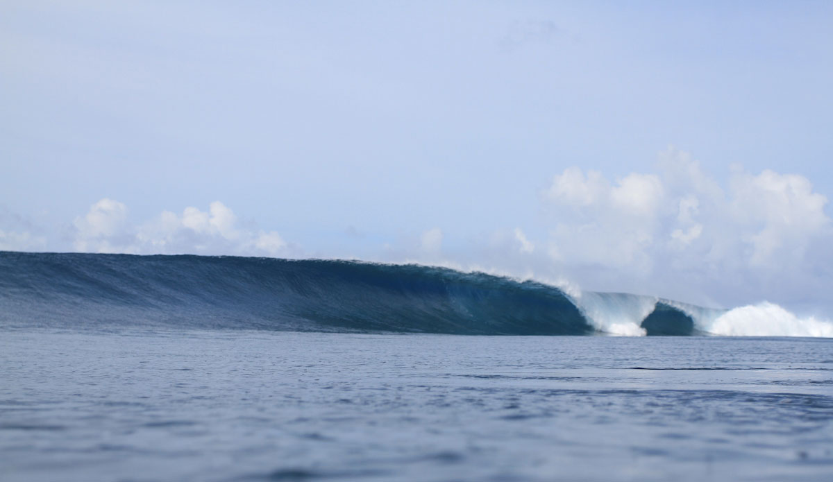 It gets big and perfect here. Photo: Brian Blank
