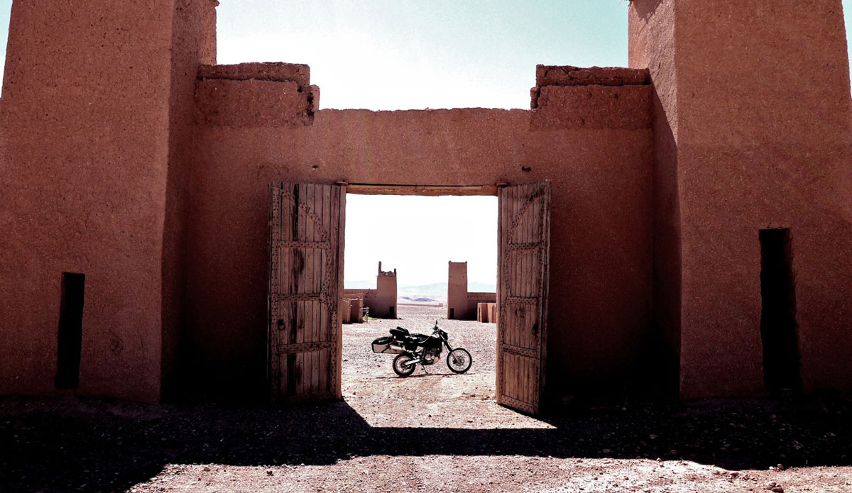 """Doors wide open in Morocco. Photo: <a href=\""""http://bugsonmyboard.org/\"""">Gary Conley</a>"""