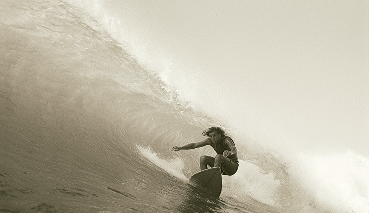"""Mark Campbell at Spooky 1973 I'd been shooting with the little Nikonos waterproof camera for a while, and if you got really close, you could get some good pictures with it.  Photo: <a href=\""""http://www.johnwitzig.com.au/\"""">John Witzig</a>"""