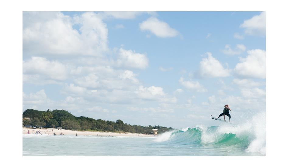 Jake Vincent, Main Beach. Photo: Woody Gooch