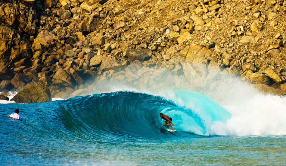 """Anthony Petruso finds himself where every surfer in their right mind wishes they were this very second. <b>Photo:</b> <a href=\""""http://www.anthonyghiglia.com/\"""" target=_blank>AnthonyGhiglia.com</a>/<a href=\""""http://www.anthonyghigliaprints.com/\"""" target=_blank>AnthonyGhigliaPrints.com</a>"""