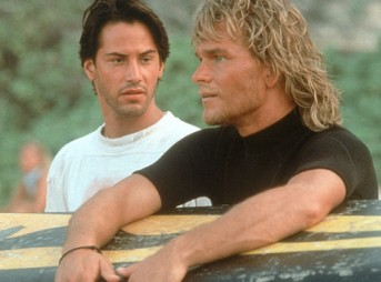 Johnny Utah and Bhodi in Point Break