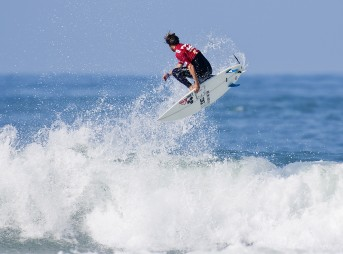 Dane Reynolds Surfing Air Lowers Trestles