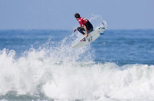 Dane Reynolds Surfing Air Lowers Trestles
