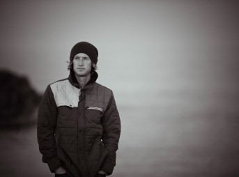 Professional surfer Timmy Curran prepares to record his third full-length album,
