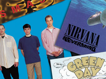 Weezer Offspring Nirvana Green Day 90s Rock