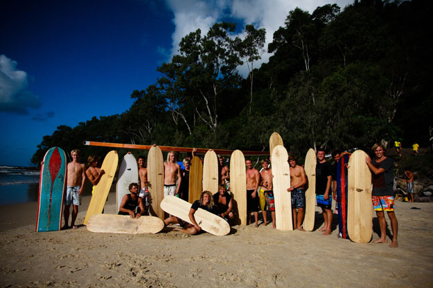 The finless surfing revolution. Photo:Noosa Festival of Surfing 2010 Finless Expression Session