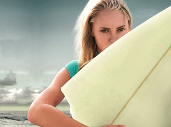 AnnaSophia Robb as Bethany Hamilton in Soul Surfer