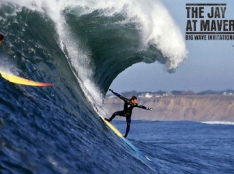 The Jay at Maverick's Invitational Big Wave Surfing