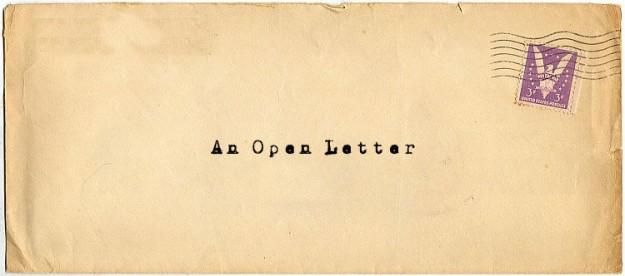 An Open Letter
