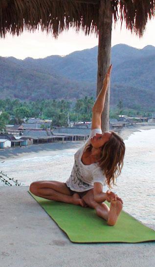 Rochelle Ballard Yoga Tips
