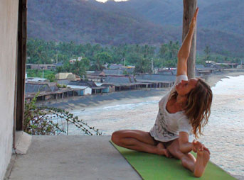 Rochelle Ballard Yoga Surf Tips