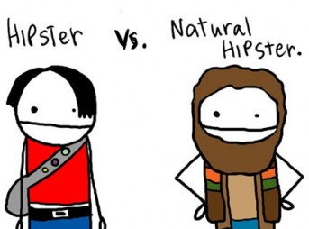Hipsters vs. Natural Hipsters