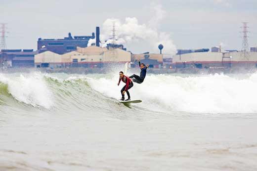 Artem Abakumov, Hammond. Photo: Mike Killion/Surfrider Chicago