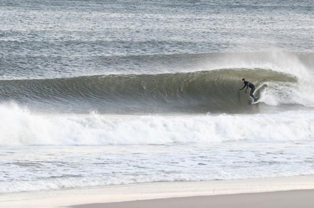 Perfect Wave Bayhead New Jersey Winter