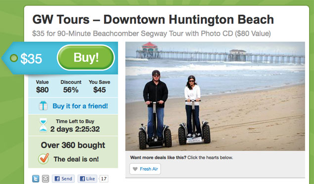 Segway Deal by the Numbers