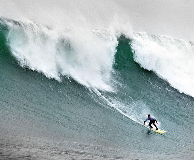 Peter Mel was crowned the 2012 Big Wave World Tour Champion.