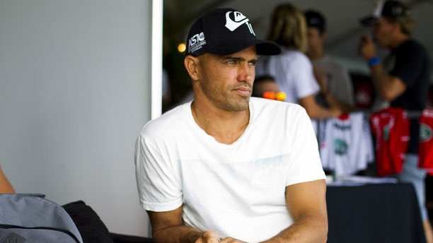 Kelly Slater does not plan to compete in Rio due to a heel injury. Photo: ASP