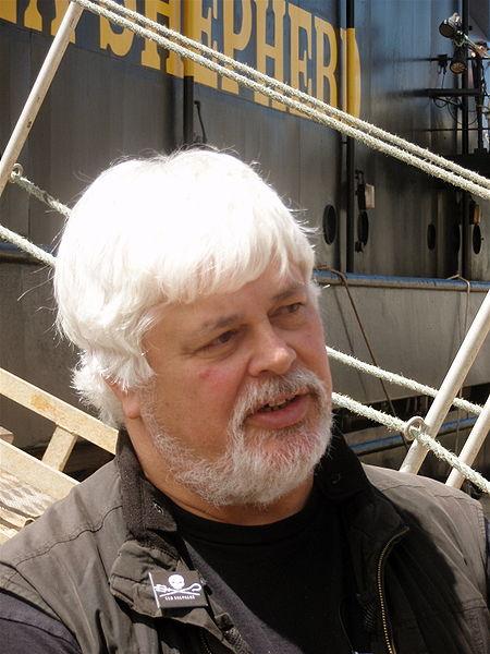Captain Paul Watson. Photo: Wikipedia Commons