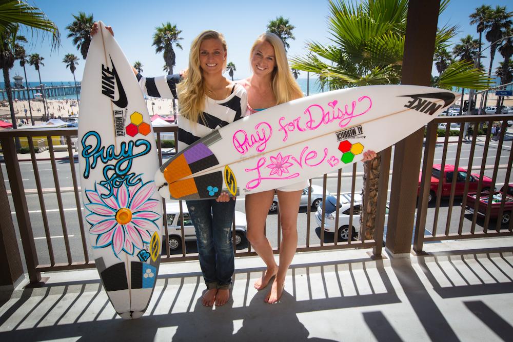 Lakey Peterson US Open Champion Daisy Surfboards