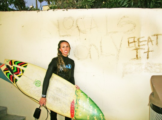 The taste of victory is so sweet. Photo: Surf Channel/Brendan Quirk