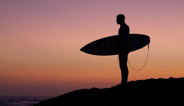 Now, the truth be told, I am a huge Slater fan, but I recognize this might be the time for Grandpa Slater to consider retiring. But what does the greatest competitive surfer in history do as he peruses the Great Point Breaks of Retirement?
