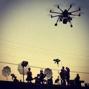 Drone Dudes Craft Oktocopter Crew Aerial Cinematography