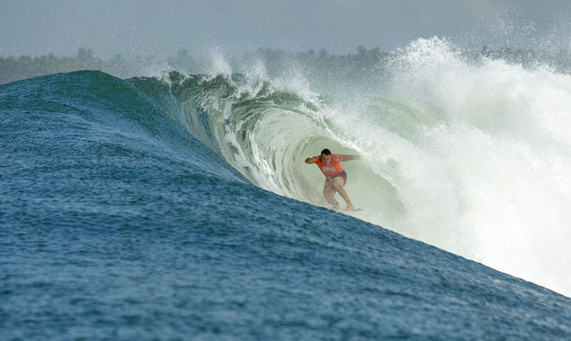 Joel Parkinson. Perfect? What's perfect? Photo: Russ Hennings/Oakley