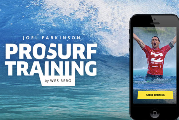 If you have a smart phone, you can surf like Joel Parkinson. Well, you can try, at least. Parko and Wes Berg (surf trainer and pro Ironman) are releasing the world's first mobile training app.
